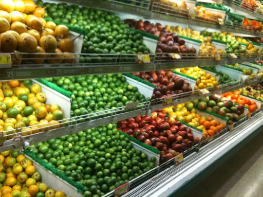 Frutas y verduras Ecuador