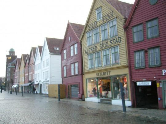 Bergen, una gran opción en Noruega